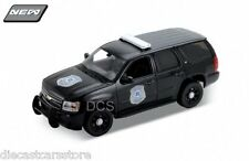 Welly 2008 CHEVY TAHOE SECURITY VERSION BLACK 1/24 Diecast Car 22509BP-W