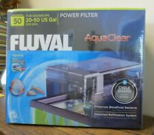 New! Fluval AquaClear 50 Power Filter for 20-50 Gal Aquariums  A610 (6108)