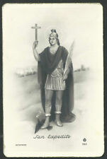 Holy card postale antique de San Expedito image pieuse santino estampa