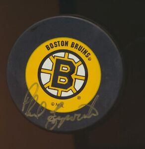 Phil Esposito Signed/ Autographed Boston Bruins Puck w/ JSA COA RR55027 (JM)