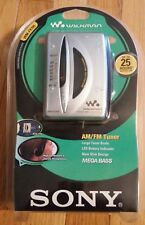 New Rare- Sony Walkman Wm-Fx195 Am Fm Stereo Cassette Player Factory Sealed