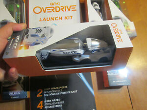 ANKI OVERDRIVE AUTHENTIC SUPERCAR SUPERTRACK GREEN RED WHITE LAUNCH KIT COMPLETE
