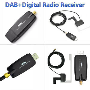 Digital Car Kit DAB+ Radio Receiver Adapter Audio Broadcast Antenna For Android