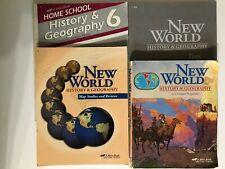 Abeka New World History & Geography 6