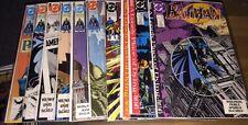 Batman 440 441 442 443 444 445 446 447 448 449 Lot Of 10 Comics