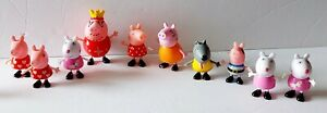 Peppa Pig Characters Lot of Figures Family and Friends