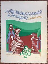 Lyzette Rosado 32 Feria Artesanias Barranquitas Puerto Rico Serigraph Cartel 93