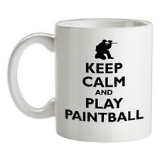 Keep Calm And Giocare Paintball Mug - Paintball - Pittura Balling - Tiro