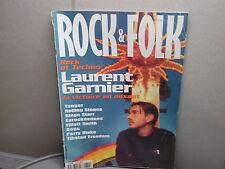 Magazine Rock & Folk n°372 - Laurent Garnier - 08/1998