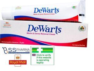 Allen Dewarts Cream for Warts and Corns