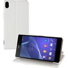 Official Roxfit Touch Book Case for Sony Xperia Z3 - White