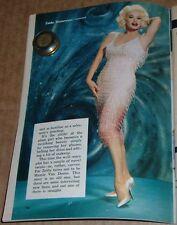 1959 TV ARTICLE~MAMIE VAN DOREN GUEST STARS on THE BOB CUMMINGS SHOW