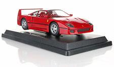 1:24 Scale Ferrari F40 Red Diecast Car Model Die Cast Cars Models Miniature