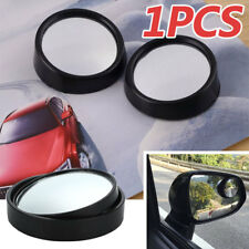 1X Car HD Convex Rearview Mirror Blind Spot Side Rear View Wide Angle Adjustable