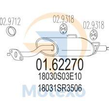MTS 01.62270 Exhaust HONDA Civic 1.6 VTi 16V 160bhp 11/91 - 12/95