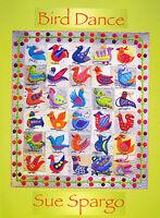 Bird Dance- applique & embellishment quilt book - Sue Spargo