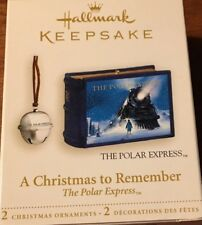 Hallmark NIB The POLAR EXPRESS A Christmas to Remember ornament 2006 NEW IN BOX