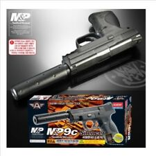 Academy Airsoft Gun Plastic Model Kit M&P 9C Silencer 6mm BB Pistol Toy N 17228