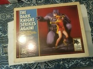 1996 DC Comics Dark Knight Strikes Again Batman & Robin Statue - Frank Miller