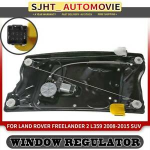 Window Regulator w/ Motor for Land Rover Freelander 2 L359 2008-2015 Front Right