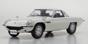 MAZDA COSMO SPORT WHITE LTD ED 600 PCS 1/12 MODEL CAR BY KYOSHO KSR12004W