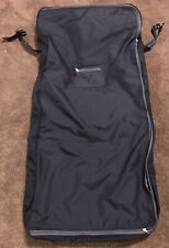 Eddie Bauer Bi-Fold Hanging Wardrobe Garment Bag Black EXCELLENT Condition