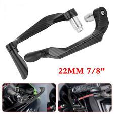 Black Aluminum Scooter Motorcycle Brake Clutch Lever Hand Guard 22MM Handlebar