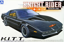 Aoshima 41277 New 1/24 Knight Rider Season1 KITT Knight Industries Two Thousand