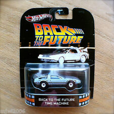 Hot Wheels BACK TO THE FUTURE DeLorean TIME MACHINE Diecast 2013 RETRO DMC-12