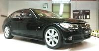 1:24 ECHELLE NOIR BMW Série 3 330i E90 22465 V détaillé Welly voiture miniature