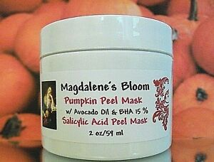 15% Salicylic Acid Peel Pumpkin Exfoliate Acne Enzyme Avocado Oil Clay Mask