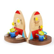 Disney Toy Story Aliens Wooden Bookends - Disney Gifts Toys Collection