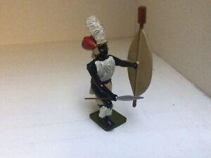 Zulu War. Zulu Warrior. Regal Soldiers of the World 54 mm toy soldier