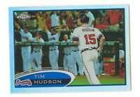 TIM HUDSON 2012 Topps Chrome Refractors #77 Braves  ID:1030