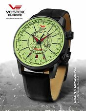 Vostok-Europe GAZ-14 Limo Watch 2426-5604240 Automatic Worldtimer