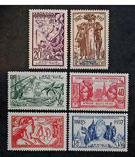 Sello AEF Stamp - Yvert y Tellier n°27 à 32 N (Col1)