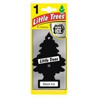 LITTLE TREE (MAGIC TREE) CAR AIR FRESHENER BLACK ICE     * BLACK ICE *