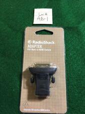 Brand New RadioShack Male DVI-to-Female HDMI Adapter # 1500375