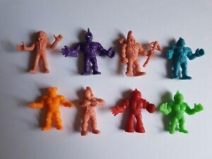 M.U.S.C.L.E. Men Figures Lot  Mattel MUSCLE Wrestlers Vintage #2