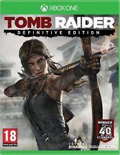 Tomb Raider -- Definitive Edition (Microsoft Xbox One, 2014)