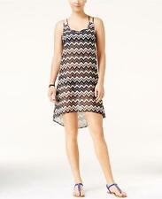 NWT NEW Miken Chevron Print Strappy Back Swimsuit Cover Up Large mr09