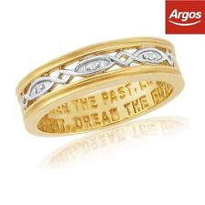 Argos Yellow Gold Plated Fine Rings