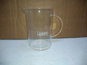 Bialetti French Press Glass 1 Pint Beaker Coffee Milk Creamer