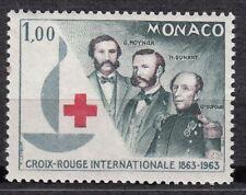 TIMBRE MONACO NEUF N° 608 *  CROIX ROUGE CROISSANT ET LION ROUGES