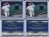 2012 JAMES PAXTON Topps Minor League PRE-ROOKie Game-Used Material RELIC JERSEY