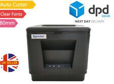 USB / NET 80mm Thermal Receipt Printer Fast Print & Auto Cut / Clear Fonts