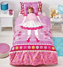 Ballerina Duvet Doona Quilt Cover Set Reversible | + Ballerina Cushion | Double