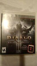 PS3 Diablo III: Reaper of Souls -- Ultimate Evil Edition *READ DESCRIPTION*