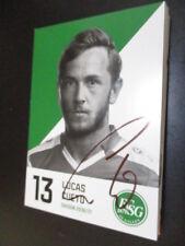 61051 Lucas Cueto FC St. Gallen 16-17 original signierte Autogrammkarte