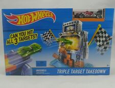 New Hot Wheels Triple Target Takedown Track Play Set F
